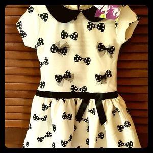 Toddler Blueberi Bows Dress